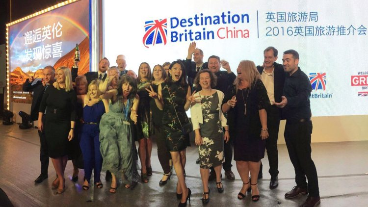 A Successful Mission to Destination Britain China