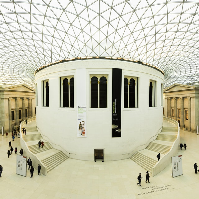 The British Museum- Queen Elizabeth II Great Court